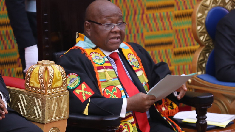 Prof. Aaron Mike Oquaye, Speaker of Parliament