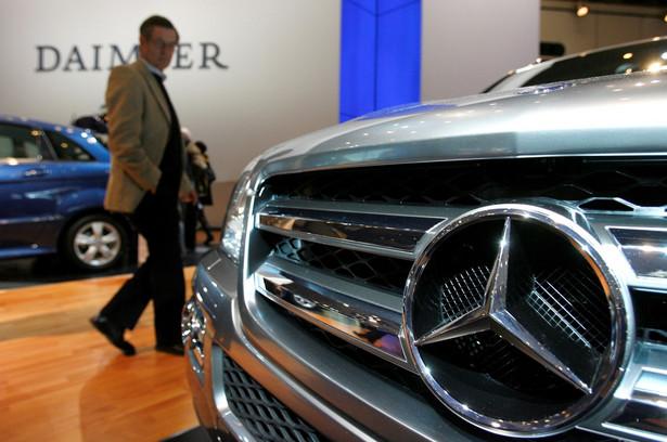 Z wielkiej czwórki największy skok w sprzedaży notuje Mercedes