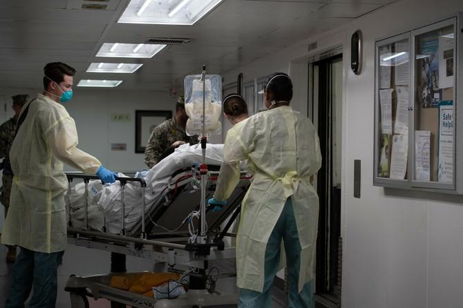 Velikodušnost u najtežim momemtima (ilustracija, slika je snimljena u bolnici u Los Anđelesu)