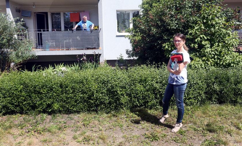 Sąsiedzki konflikt w bloku w Redzie