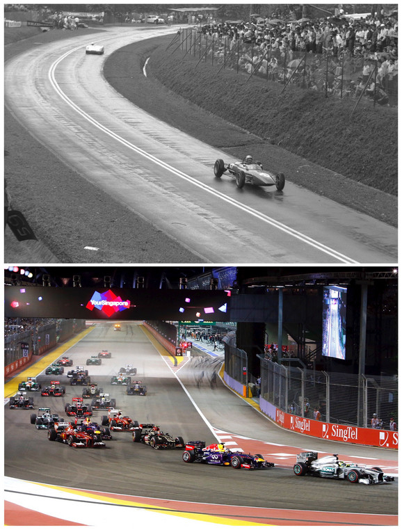 Velika trka Formule jedan je od zaštitnih znakova Singapura
