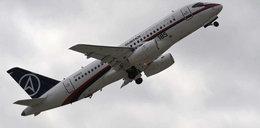 Supernowoczesny samolot porwany w dżungli?