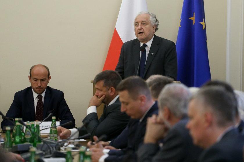 Były szef Trybunału Konstytucyjnego prof. Andrzej Rzepliński