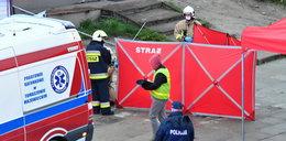 Atak nożownika w Brzezinach. Jedna osoba nie żyje, ranny policjant