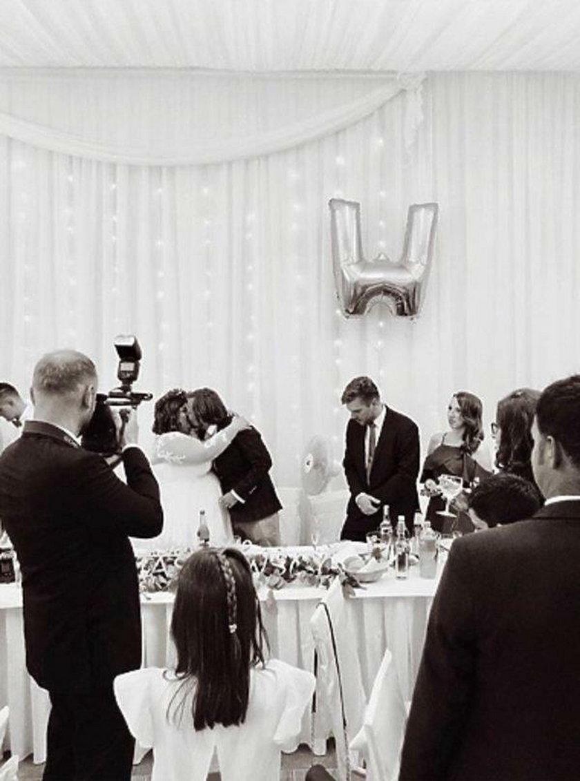 Ślub Dominiki Gwit