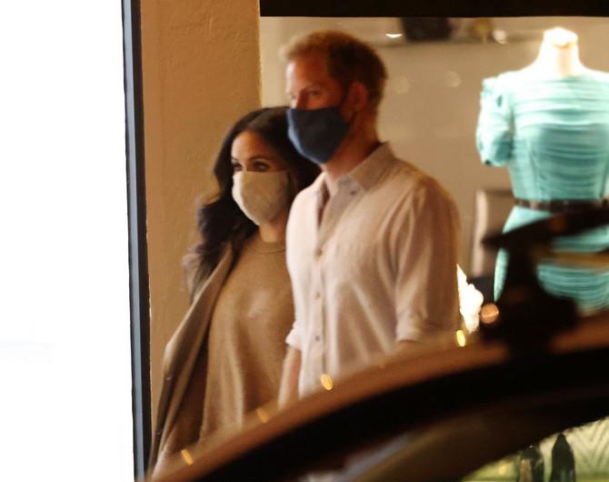 Megan Markl i princ Hari u Santa Barbari