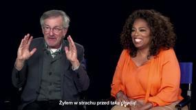 """""""Podróż na sto stóp"""": Steven Spielberg i Oprah Winfrey o filmie"""