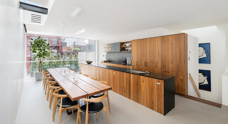 A penthouse that defies Tribeca's limitations