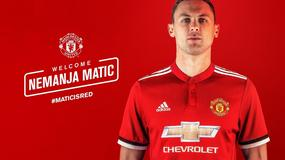 Nemanja Matić oficjalnie piłkarzem Manchesteru United