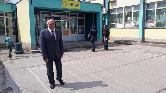 "Direktor OŠ ""Čegar"" Goran Dinić"