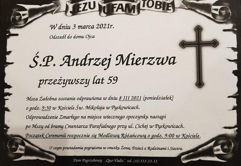 Andrzej Mierzwa, Processs