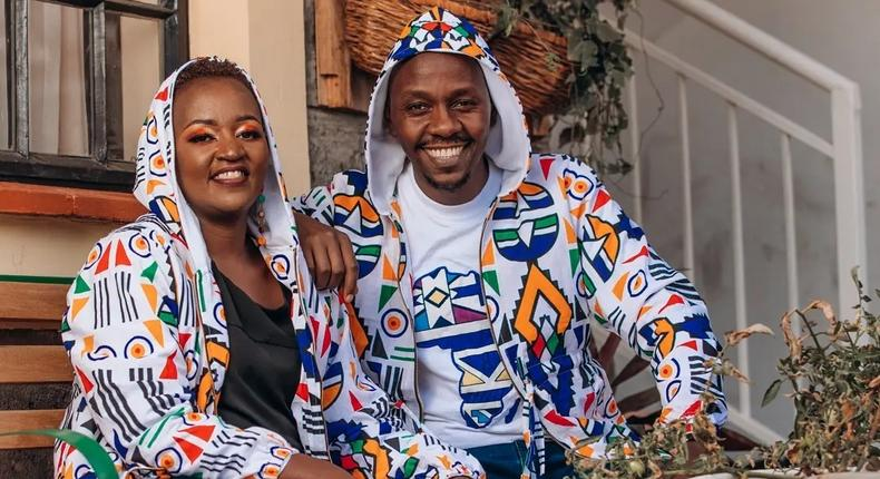 DJ Krowbar and his wife Wanjiru Karumba