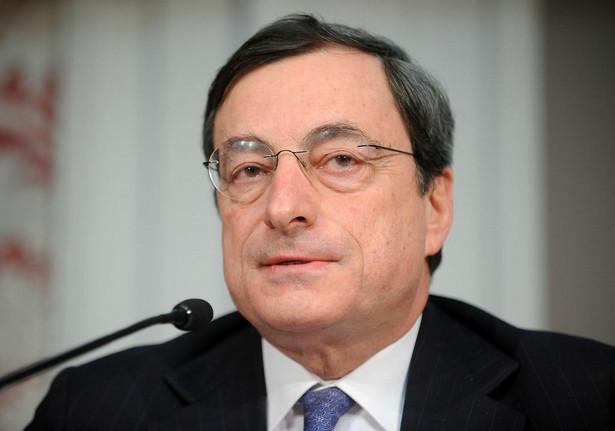 Mario Draghi fot. bloomberg