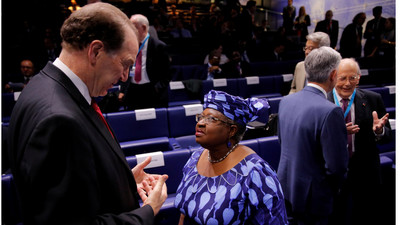 Okonjo-Iweala is now the favourite to win World Trade Organisation election