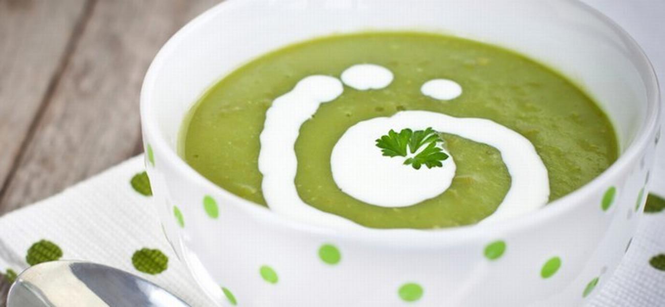 e1d1960f4df449 Zupa krem z groszku zielonego wg Magdy Gessler
