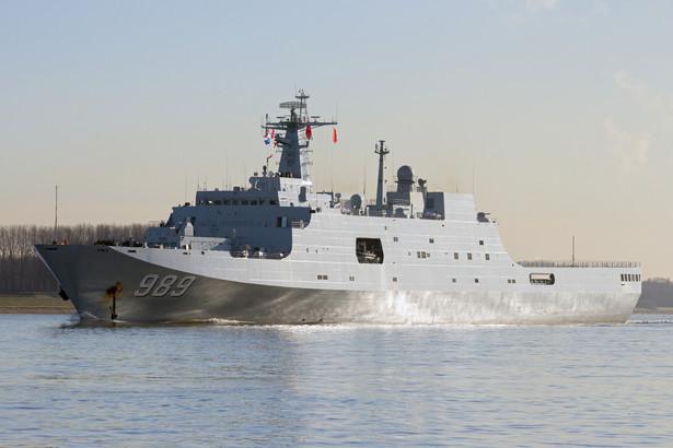 Chińska flota na morzu Południowochińskim