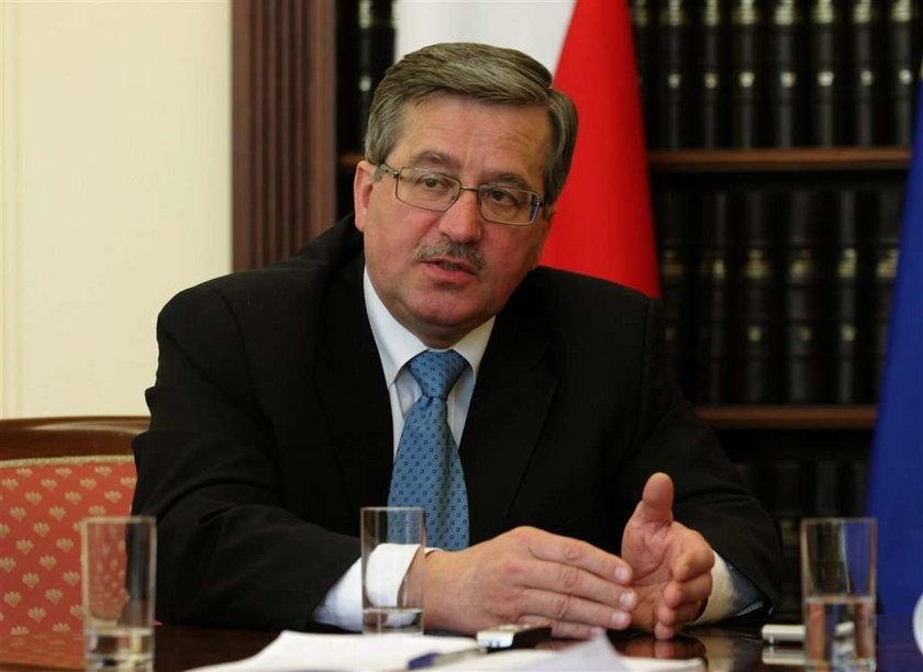 TVP odmówiła wywiadu z Komorowskim