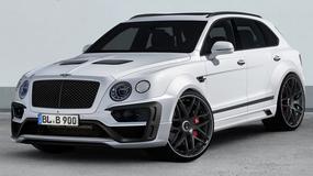 Bentley Bentayga po tuningu w Lumma Design