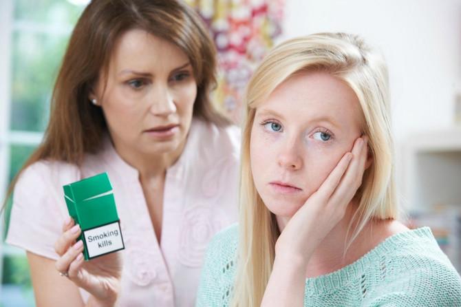 Ako je roditelj pušač, velike su šanse da i dete to postane