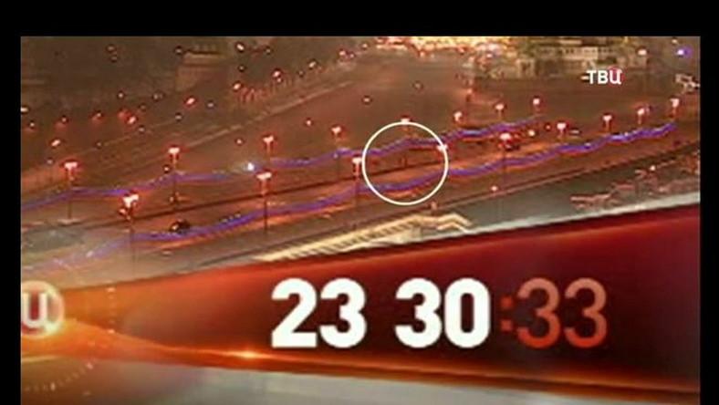 Jest WIDEO z mostu, na którym zabito Niemcowa. Widać mordercę?