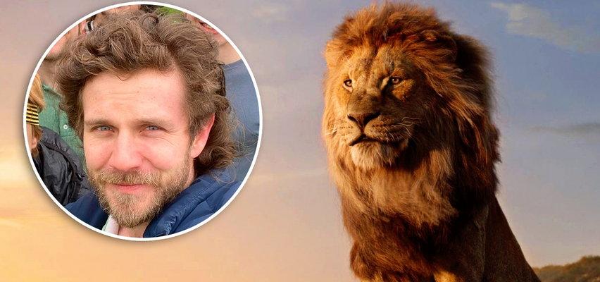 Antek Królikowski zapuścił się na Mufasę. Robi za Króla Lwa!