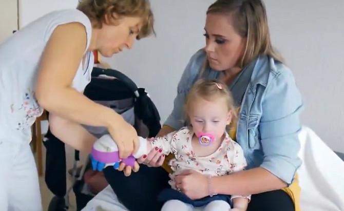 Roditelji se nadaju da će Kori imati normalan život