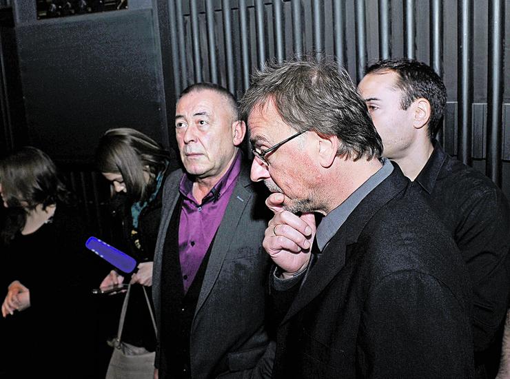 Mima Karadžić i Žarko Laušević