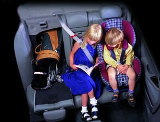 Podróż z niemowlęciem w samochodzie