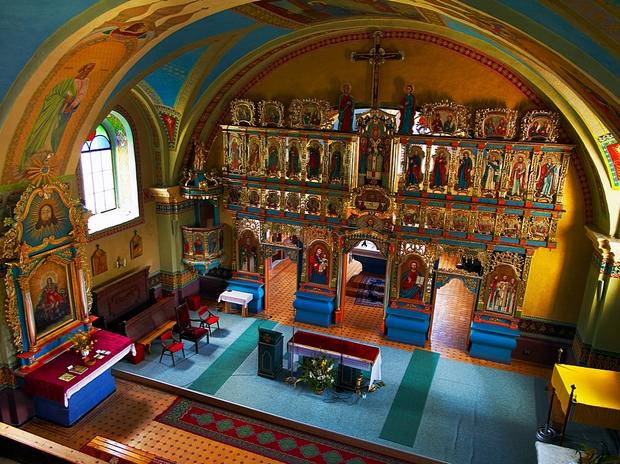 Jaworki, kościół św. Jana Chrzciciela