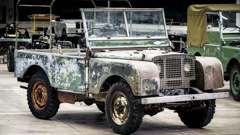 Odnaleziono prototyp Land Rovera 4x4, który zaginał 30 lat temu