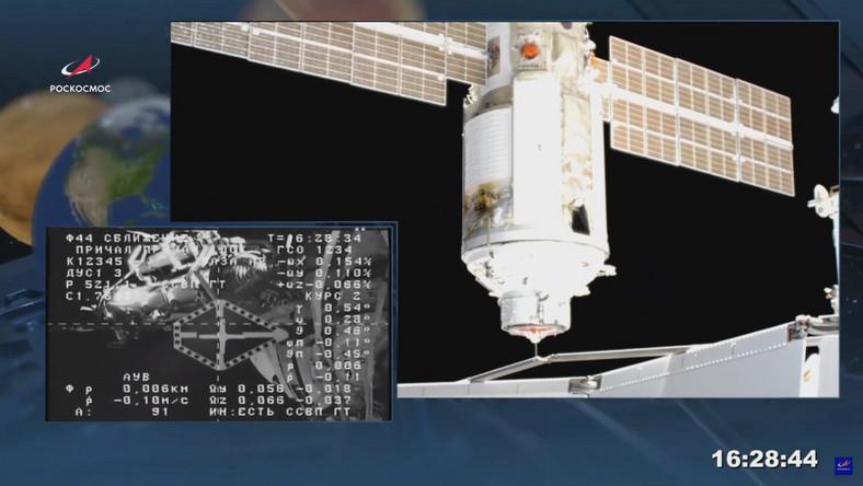 Rosyjski moduł Nauka na ISS