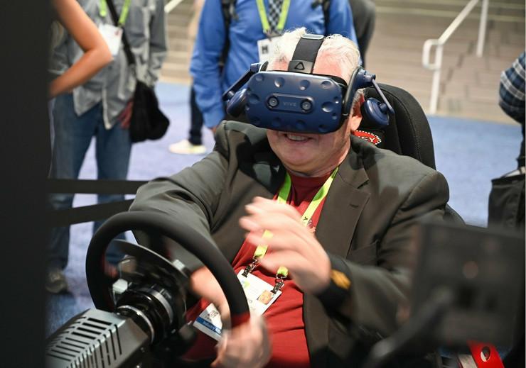 HTC Vive Pro Eye na CES u Las Vegasu