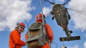 Amatorski dron zderzył się z wojskowym śmigłowcem