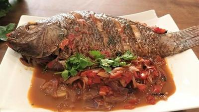 Easy way to make Tilapia without deep frying first