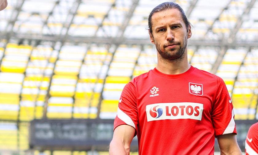 Grzegorz Krychowiak jest kontuzjowany. Jego występ 2 września w meczu Polska-Albania stoi pod znakiem zapytania