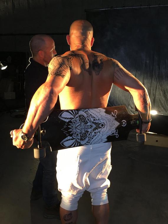 "Vin Diesel prosto z planu ""XXX: The Return of Xander Cage"""