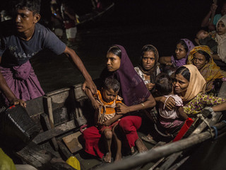 Running Out Of Time: Monsoon Threatens Rohingya
