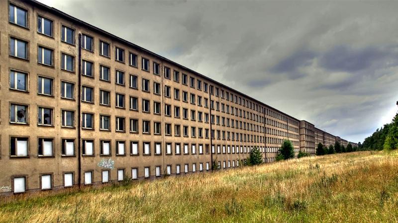Niemcy - Prora, kurort Hitelra