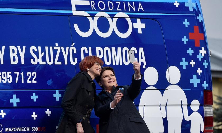 Elżbieta Rafalska i Beata Szydło