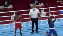Tokyo 2020: Ghana's Sulemanu Tetteh advances to round of 16 after beating Rosa Rodrigo