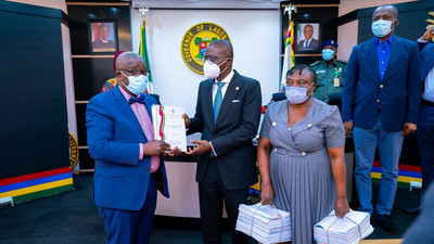 Sanwo-Olu receives LASU panel report on new VC's appointment