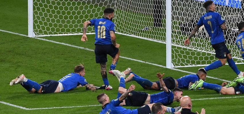 Wpadka włoskiego piłkarza. Co pokazał światu z radości? FILM