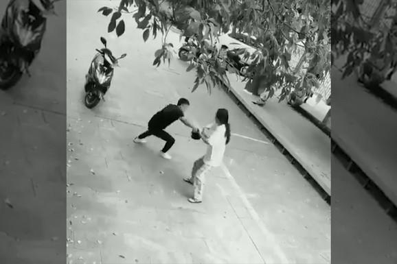 OBILO MU SE U GLAVU: Lopov je hteo da izvrši pljačku, a reakcija njegove žrtve će vas ZASMEJATI