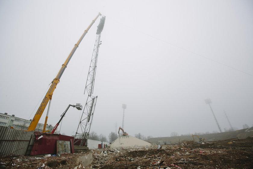 Budowa stadionu wstrzymana przez znalezione ludzki szczątki!