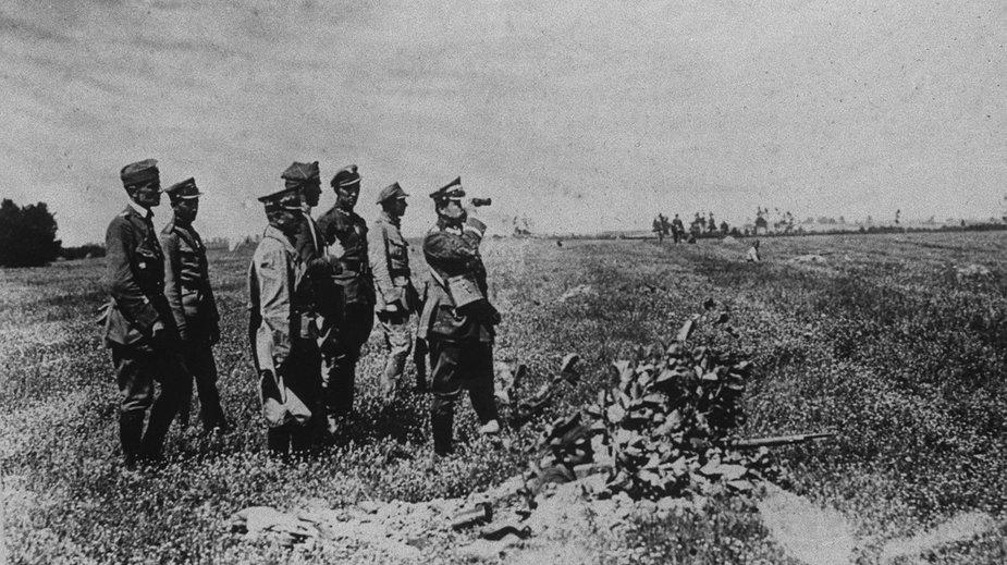 Okuniew 1920. Bitwa Warszawska