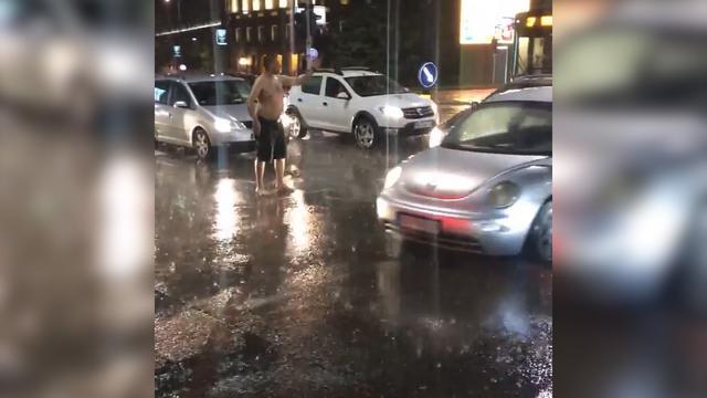 Goli saobraćajac u Beogradu