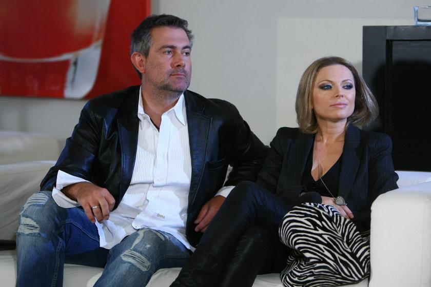 Anna Maria Jopek i jej mąż