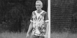 Wzruszający gest na pogrzebie piłkarza. Sylwester zmarł na boisku, na oczach maleńkiego synka...