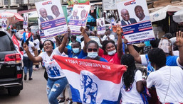 NPP supporters