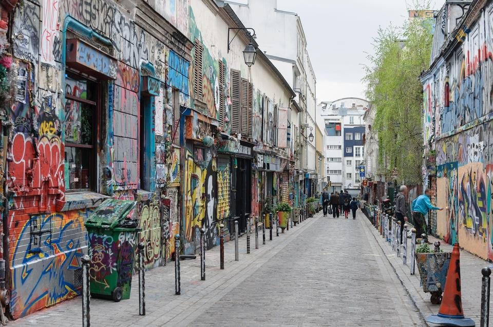 20. Belleville i Ménilmontant, Paryż, Francja